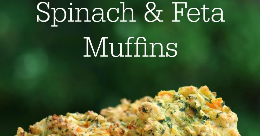 ... Free Lifestyle Blog: Recipe: Savoury Pumpkin, Spinach and Feta Muffins