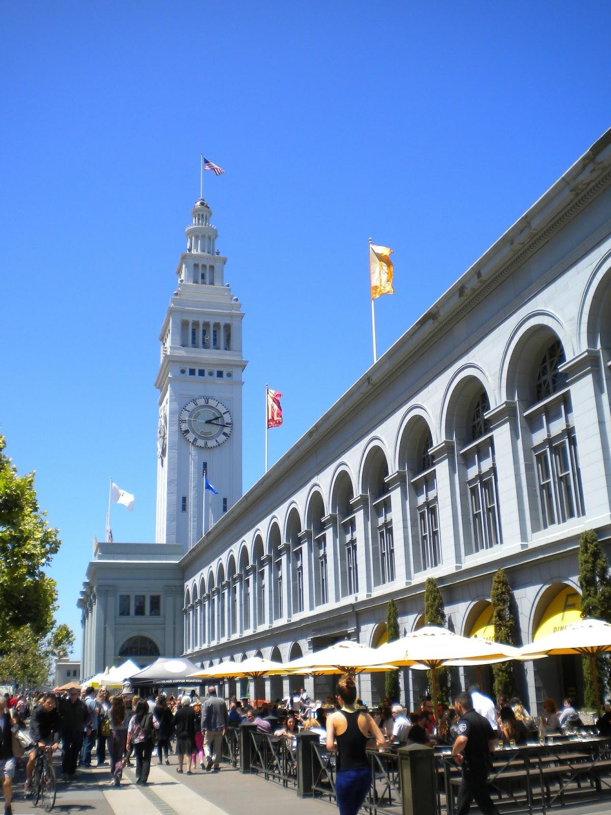 Ferry Building San Francisco Kalifornia matkailu matkakohde matkajuttu mallaspulla