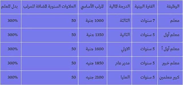 وزير التربية والتعليم يحدد موعد تطبيق جدول مرتبات المعلمين الجديد
