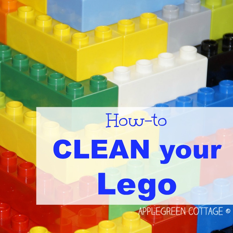 cleaning Legos