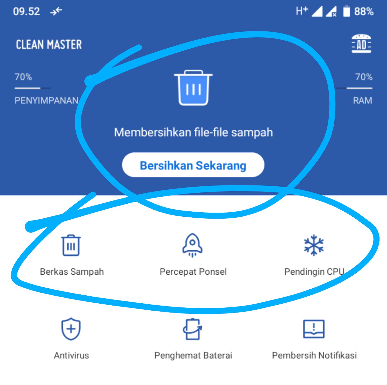 Cara dapat uang dari clean master