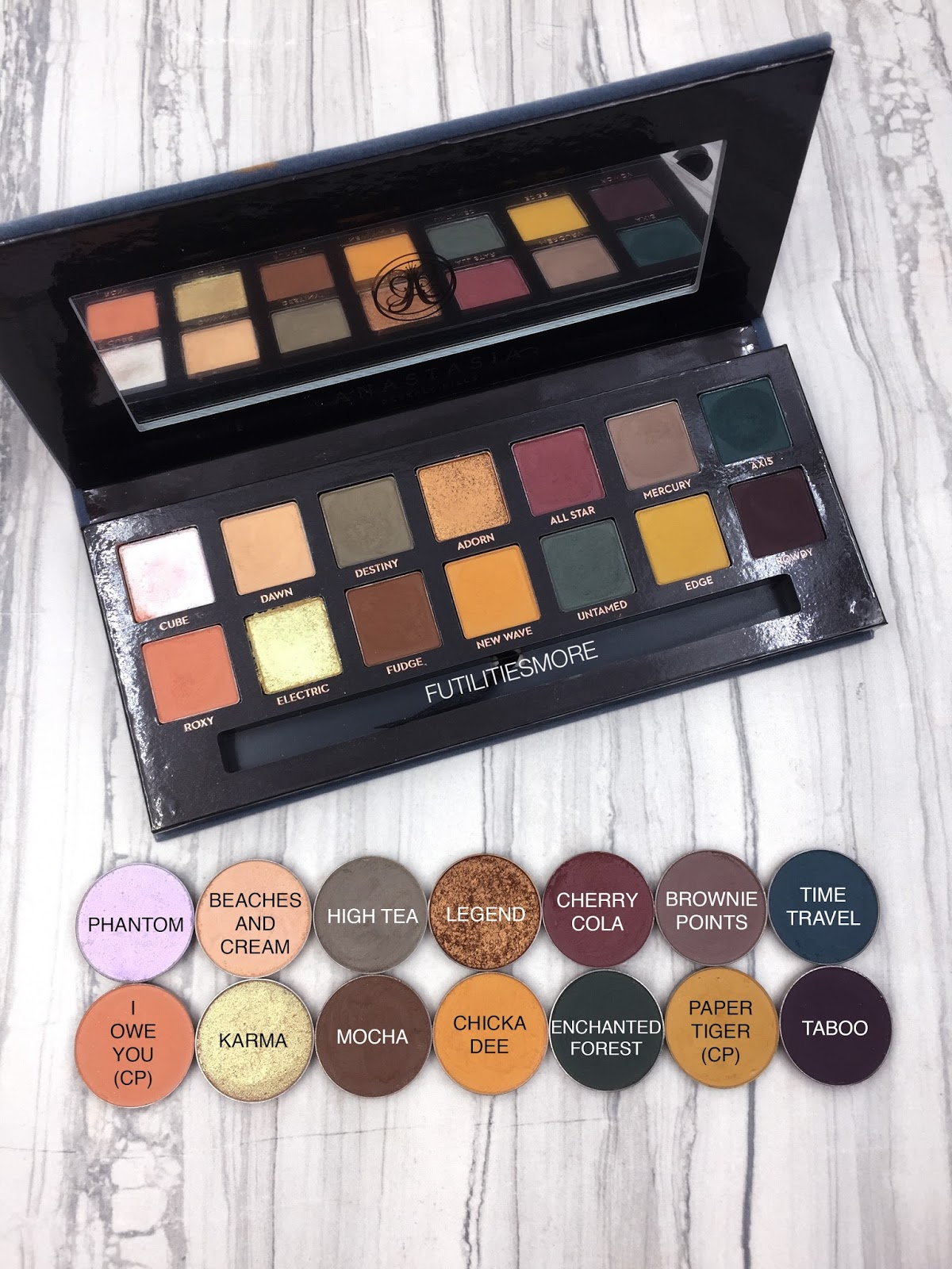 Anastasia Subculture Palette Dupes With Makeup Geek And