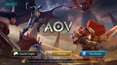 Setting ControL NOX Main AOV dan Mobile Legends