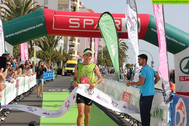 Jorge González y Aurelia Perez vencedores de la II Media Maraton Spar La Palma