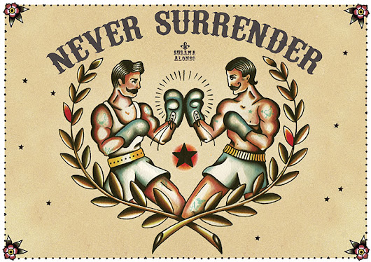 NEVER SURRENDER -ORIGINAL AVAILABLE-