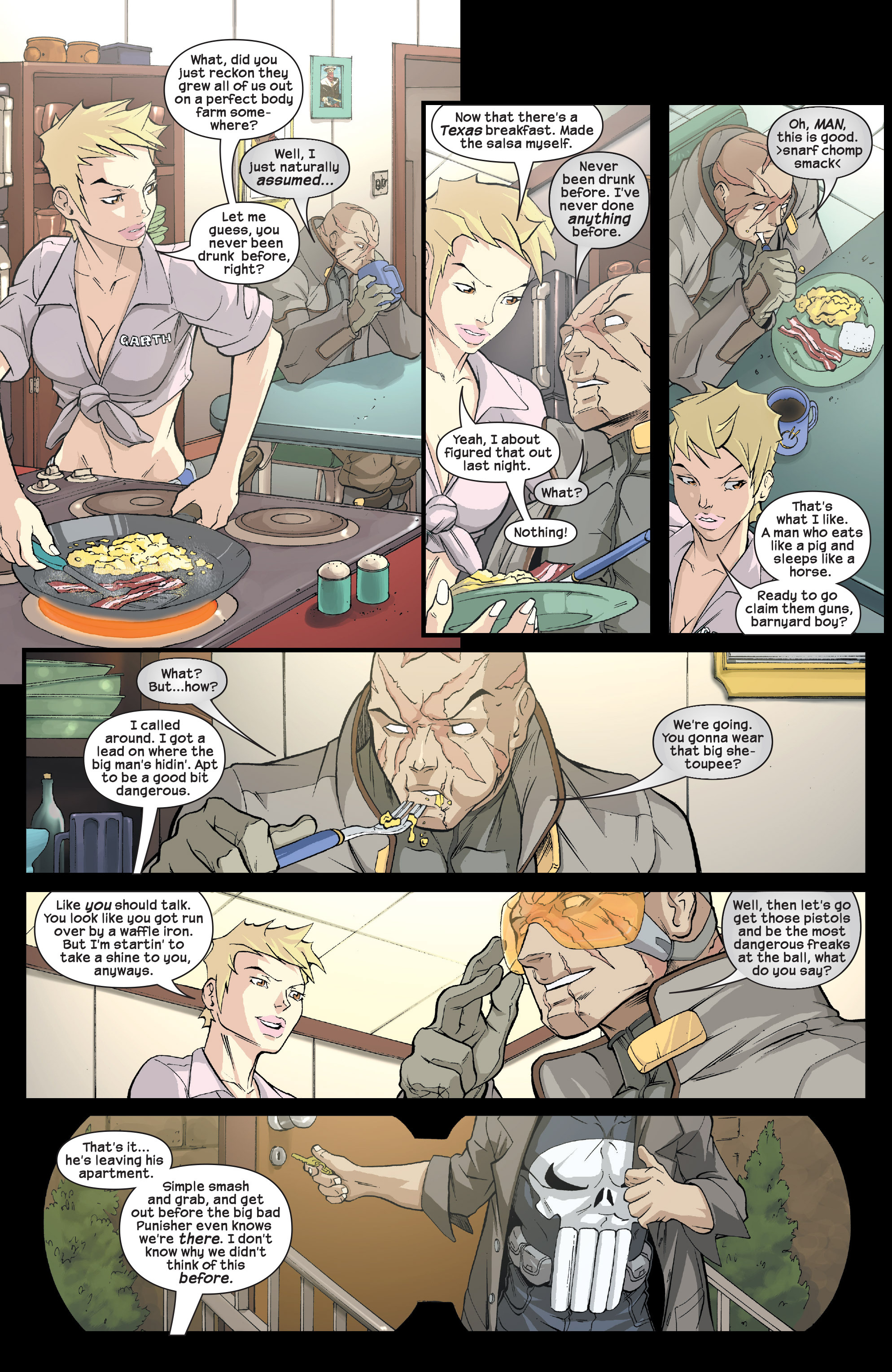 Read online Agent X comic -  Issue #2 - 19