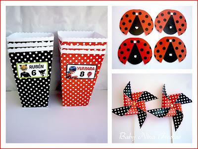 kit personalizado ladybug