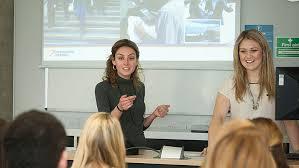 OT Students presenting