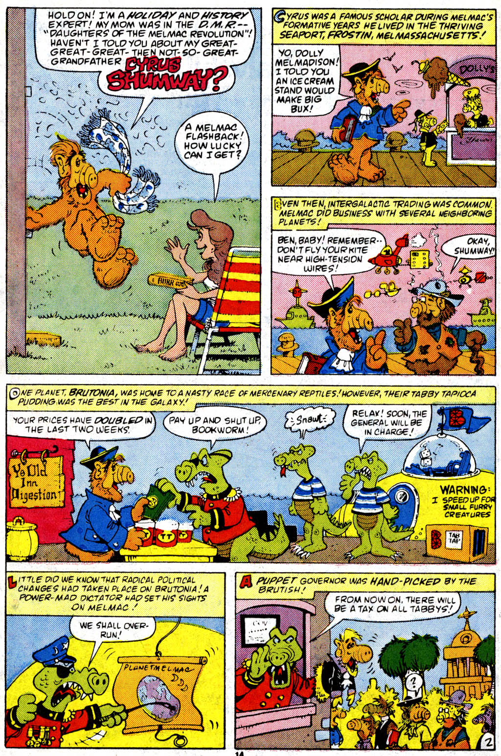 Read online ALF comic -  Issue #9 - 11