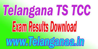 BSE Telangana TS TCC Exam Result Download