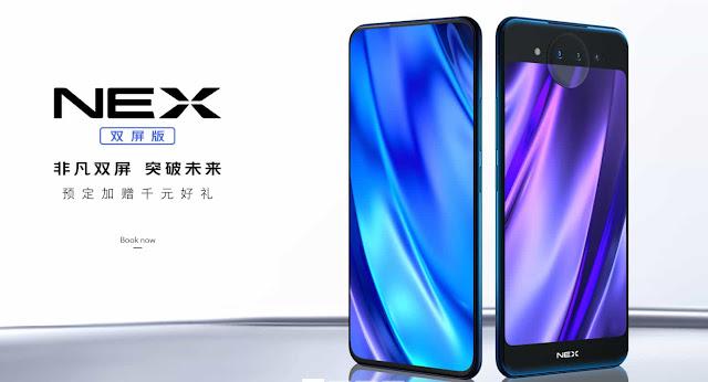 Vivo Nex Dual Screen full specification in Detail - Eazzyone.com