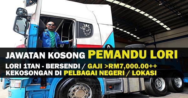 PEMANDU LORI MALAYSIA