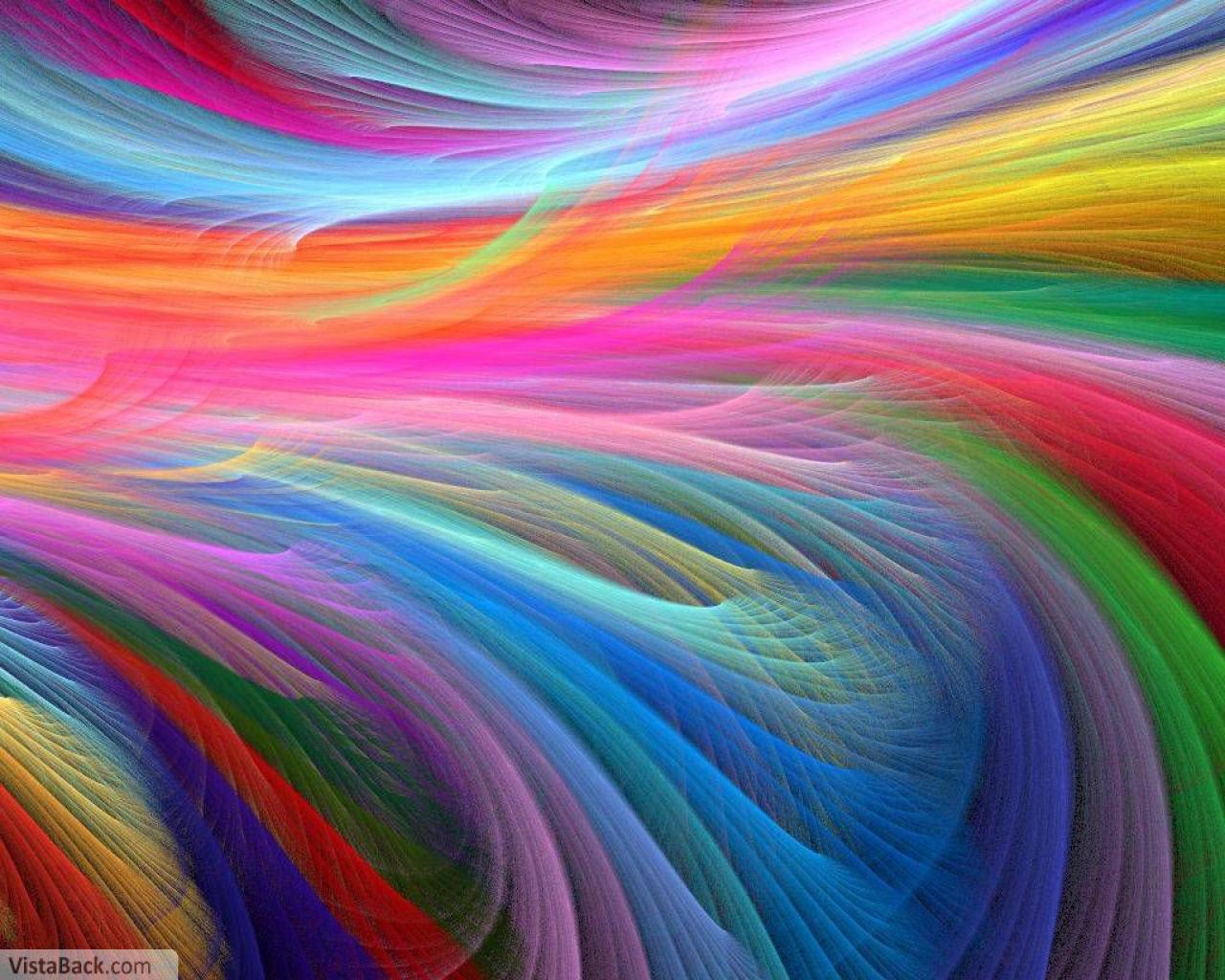 rainbow fractal cool - photo #15