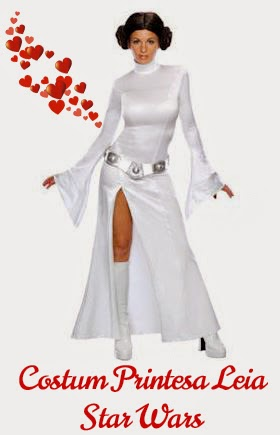 Costum Printesa Leia Star Wars