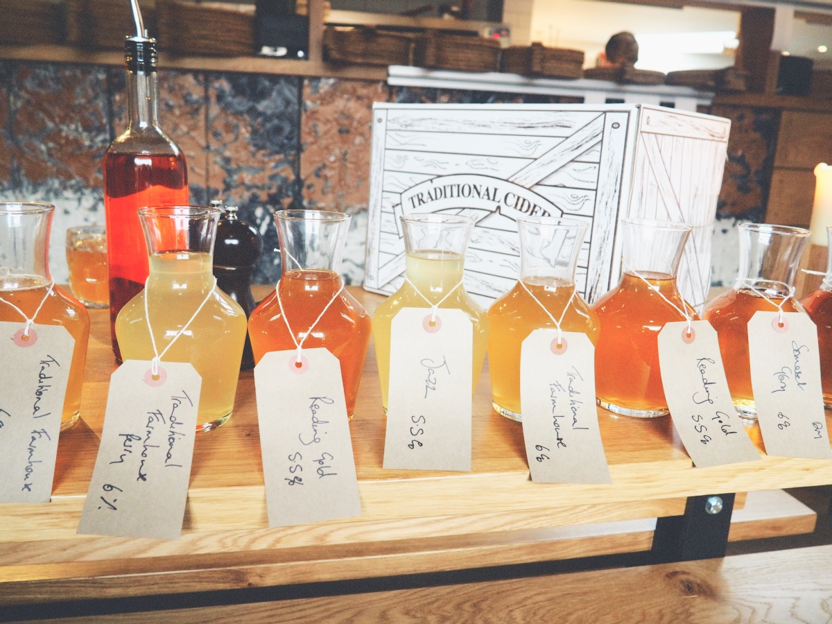The Stable Winchester Cider Samples