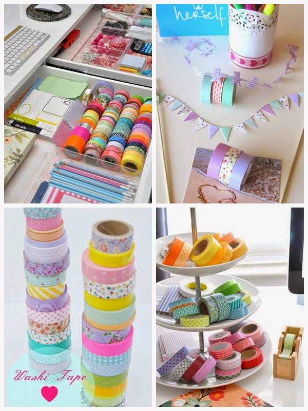 Idea tu espacio ideas para decorar con cinta washi tape - Ideas para decorar con washi tape ...