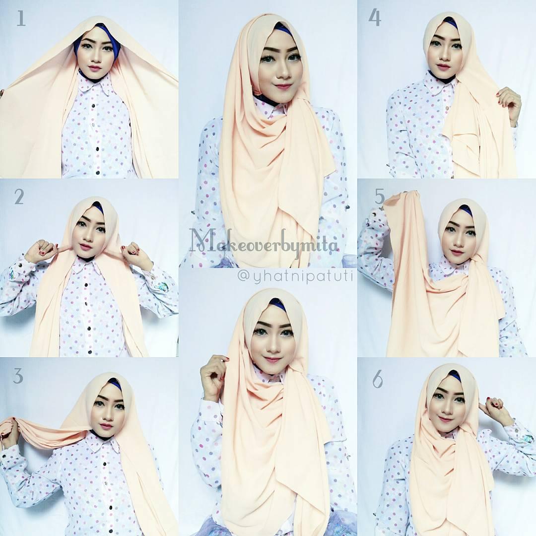 87 Koleksi Tutorial Hijab Istri Ridwan Kamil Untuk Wajah Bulat