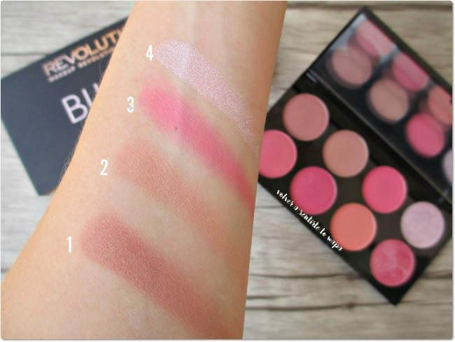 Paleta de Coloretes de Make Up Revolution - Sugar and Spice