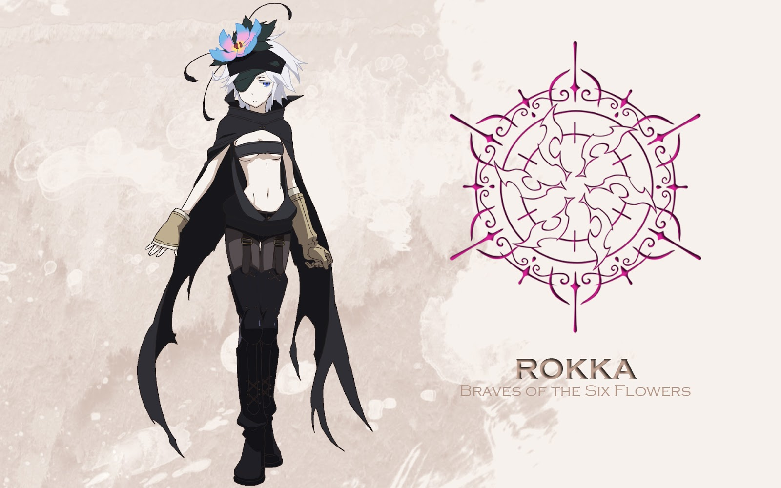 Rokka braves of the six flowers cosplay