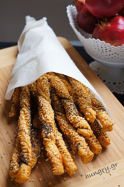 Poppy Seeds Sticks
