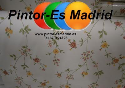 Pintores madrid papel pintado madrid for Papel pintado madrid