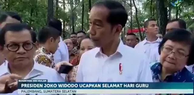 Tanpa Teks, Sebuah Video Kompilasi Wawancara Jokowi, Netizen: Berat