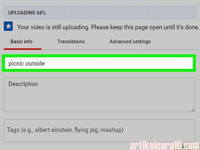 Deskripsi Video Youtube