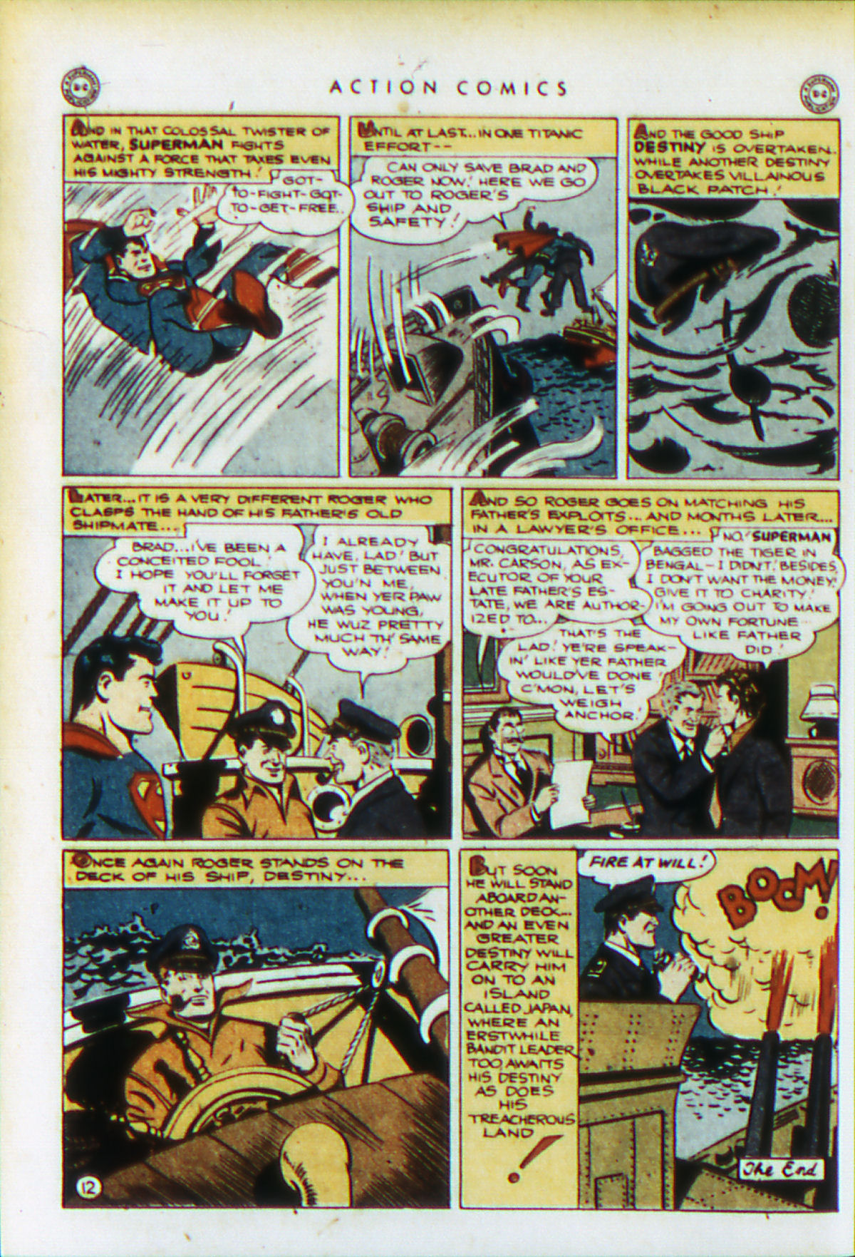 Read online Action Comics (1938) comic -  Issue #76 - 15