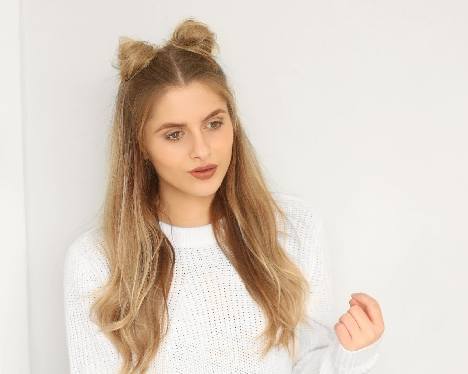 Festival Hair Tutorial Space Buns Fashion Influx
