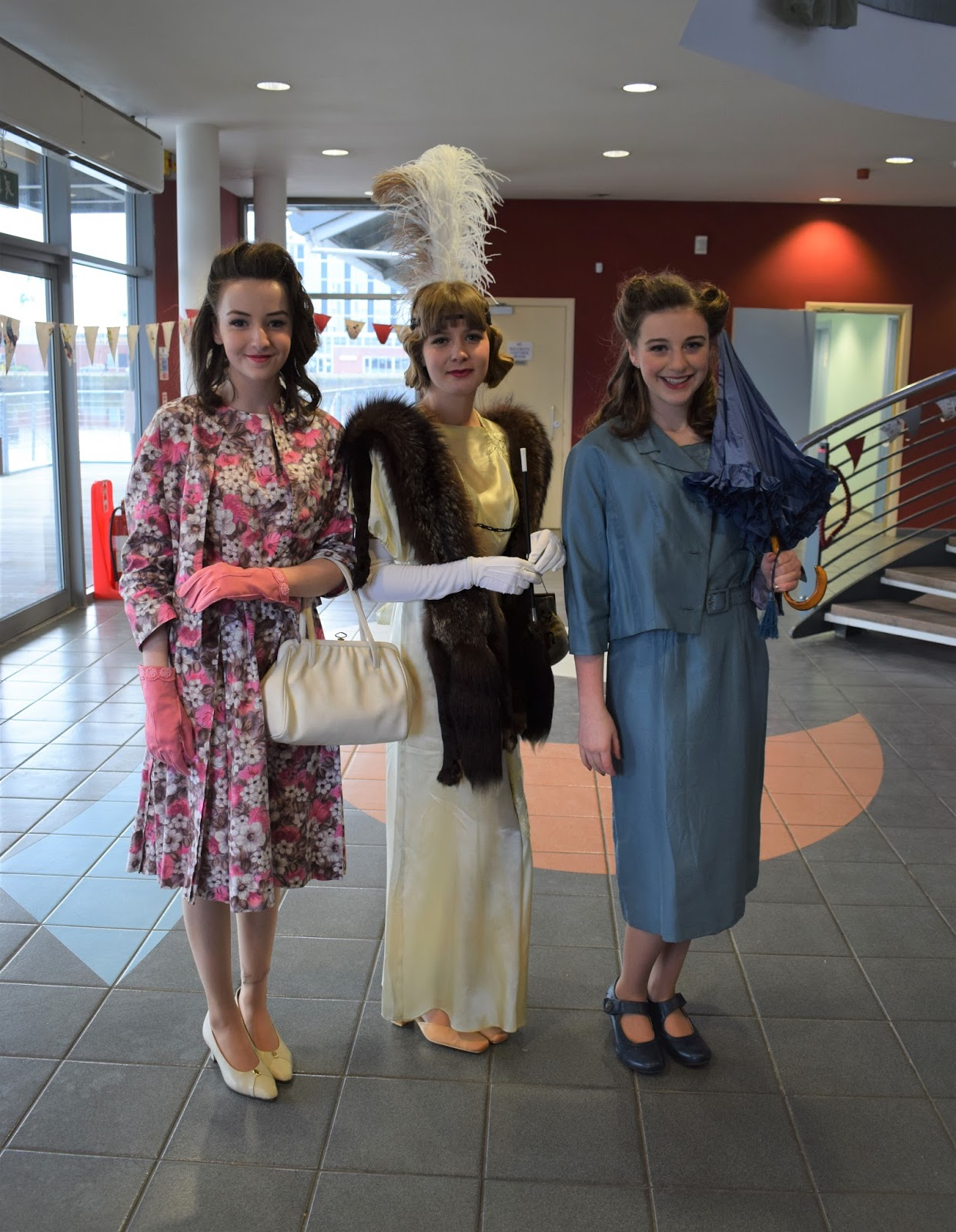 Specifically Vintage market event, The Quay Dundee, charity event Dundee, Vintage afternoon tea and fashion show, 1920s ro 1950 fashions, vintage fashion models