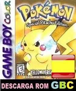 Pokemon Amarillo Español Rom Gbc Gameboy Color Zip Roms Game Boy Color Gbc En Español