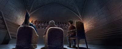 Libro 5, Capitolo 8: L'udienza davanti al Wizengamot