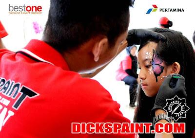 face painting kids bogor