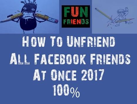 Delete All Facebook Friends