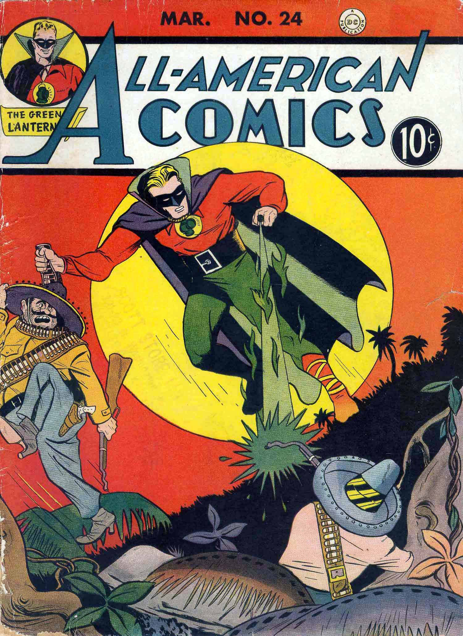Read online All-American Comics (1939) comic -  Issue #24 - 1
