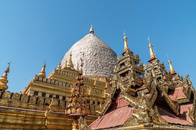 Pagode Shwezigon - Bagan - Myanmar - Birmanie