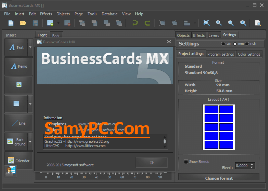BusinessCards MX Free Download Full Latest Version