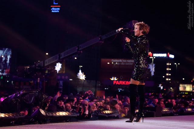 Anna Wyszkoni - koncert, występ na Sylwestrze - Hello 2017