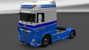 Kanters Transport skin for DAF Euro 6