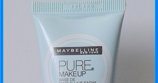 RESEÑA: BASE PURE MAKEUP DE MAYBELLINE