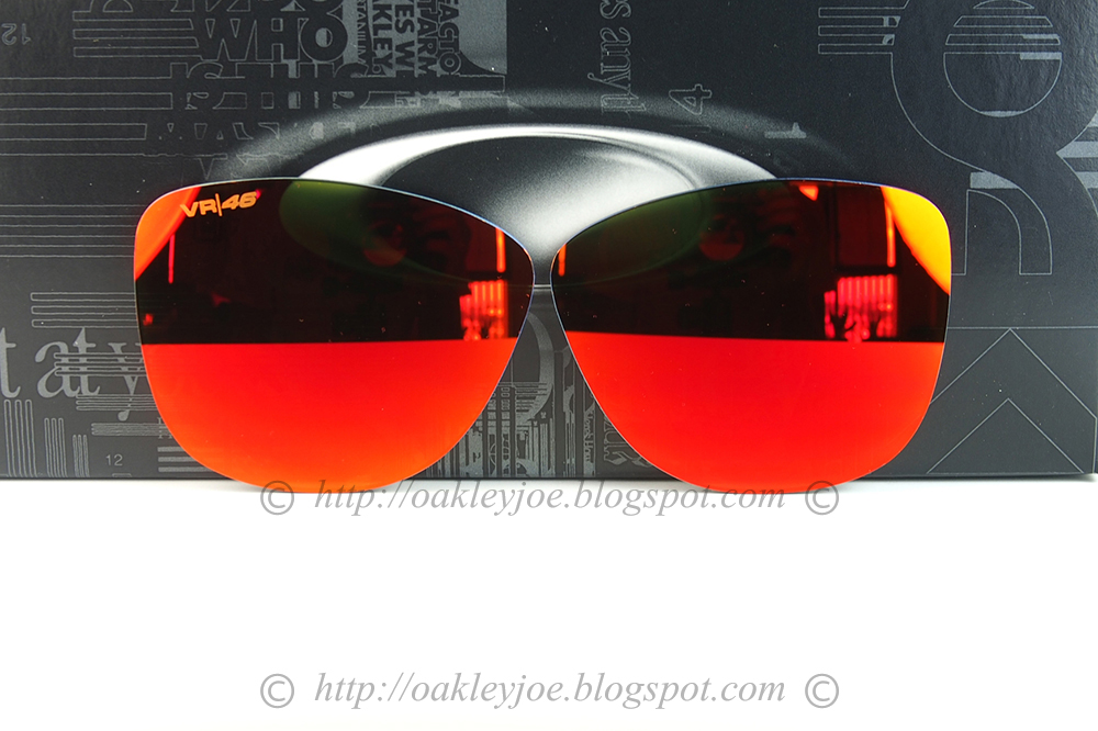 4bc0afd57f4 102-797-011 Frogskins Replacement Lens prizm ruby  115 lens pre coated with  Oakley hydrophobic nano solution