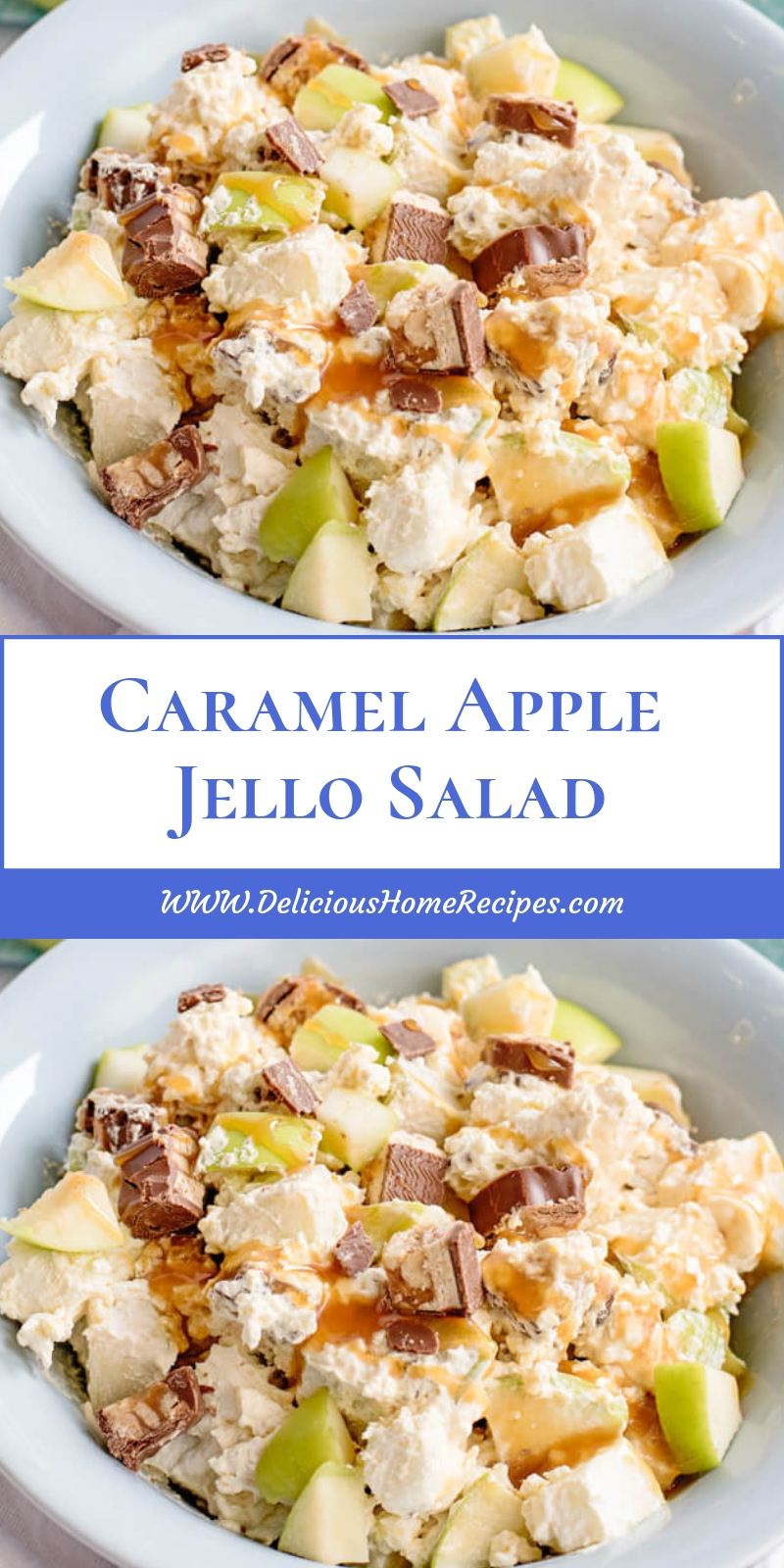 Caramel Apple Jello Salad