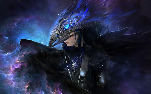 Fantasy Black Angel Wallpaper Engine