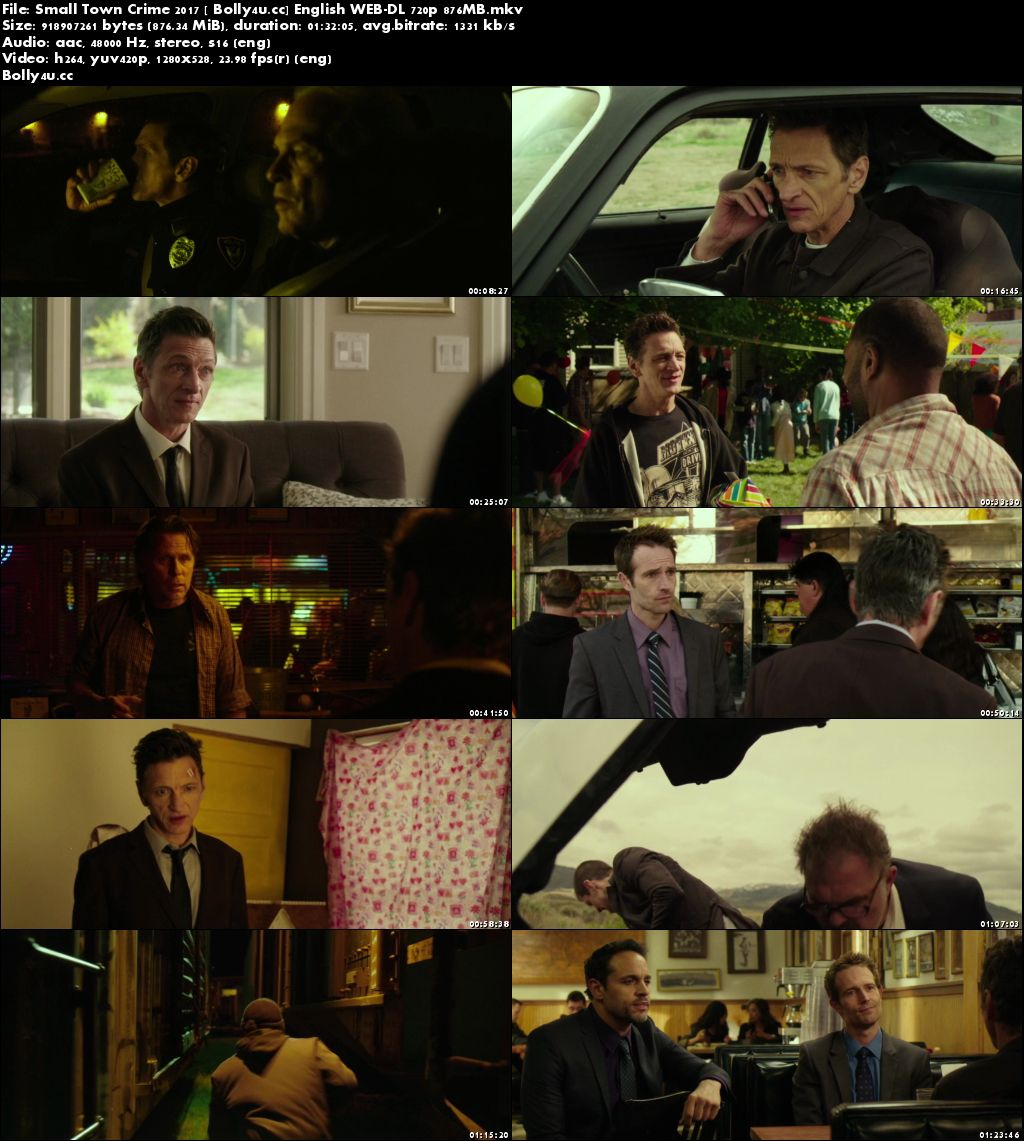 Small Town Crime 2017 WEB-DL 280MB English 480p Download