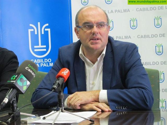 """Anselmo Pestana: """"La sentencia del TC sobre la Ley de Islas Verdes avala que La Palma es un lugar seguro para invertir"""""""