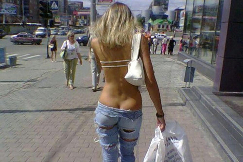 нищета заставляет снять одежду видео