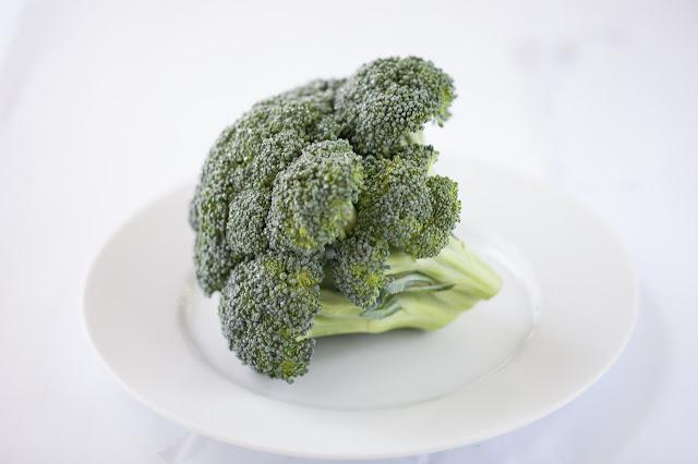 brokuł na trzy sposoby