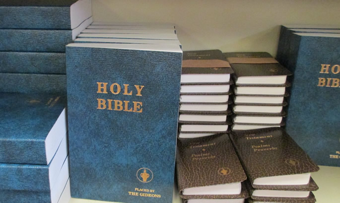 School Tells Foundation: Don't Give Students Bibles