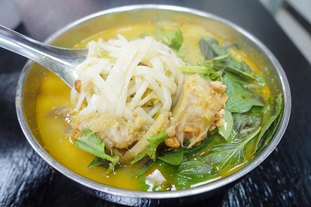 台北南港區素食~越南素食咖哩河粉