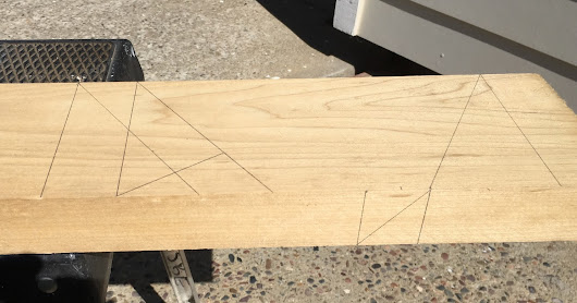 Developing Bevel Angles on the Stick-Timber
